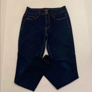 Mossimmo high waist denim leggings - size 9 EUC